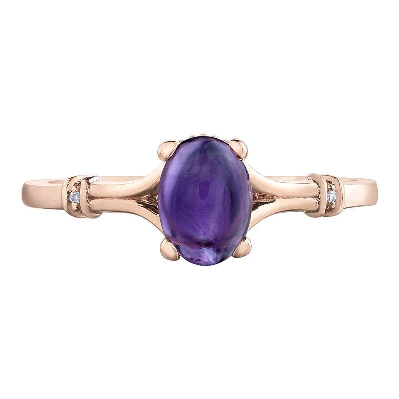 Ashley Rose Amethyst Ring
