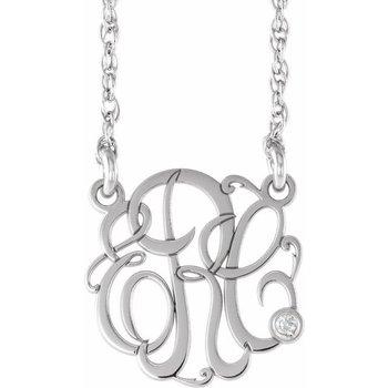 Monograme Necklace