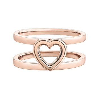 Heart Shaped Ring for Stackables