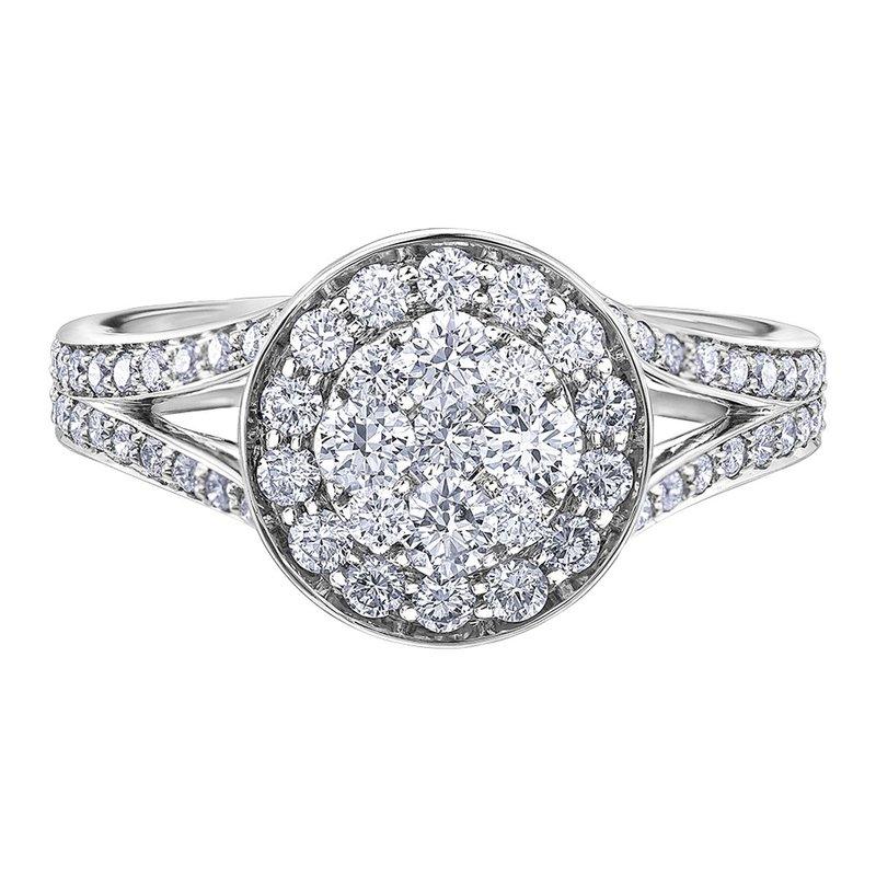 Ashley Ladies Diamond Engagement Ring