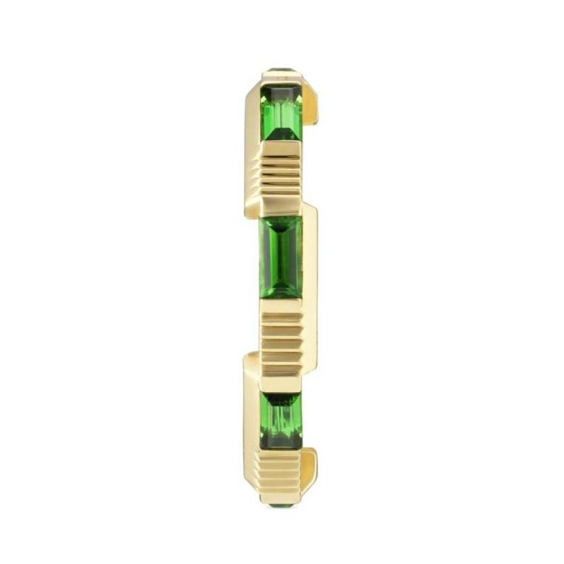 Gucci Link to Love tourmaline ring Size 6.5