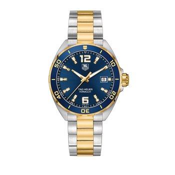 Formula 1 41mm steel & gold, blue dial, steel & gold bracelet