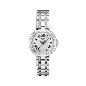 Bellissima Small Lady White Dial Stainless Steel Watch, 26mm