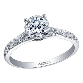 Ideal Cut Engagement Ring