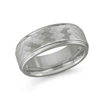 8mm Tungsten Wedding Band Size 10