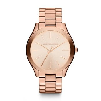Oversized Slim Runway Rose Gold-Tone Watch