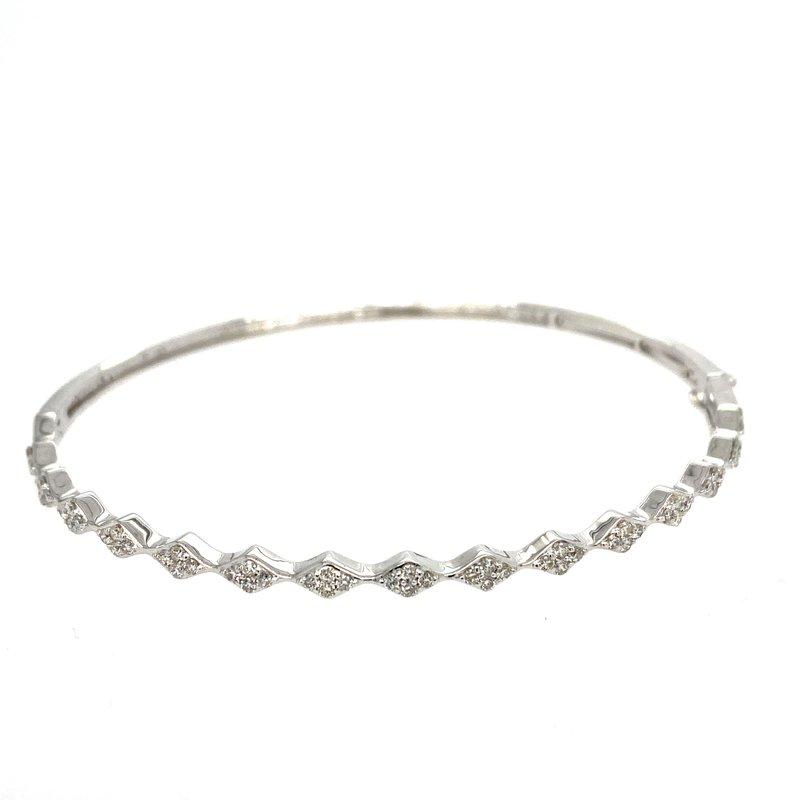 Ashley Diamond Bangle Bracelet