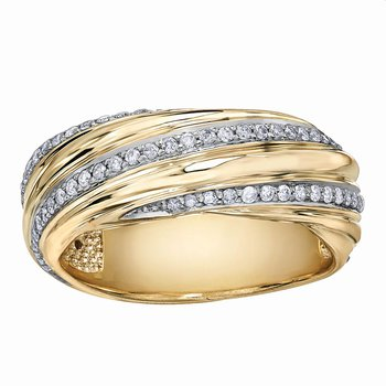 Ladies Diamond Band
