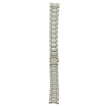 Omega 18mm-S/S Metal-Silver Tone Bracelet