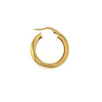 Boxed Hoop Earrings