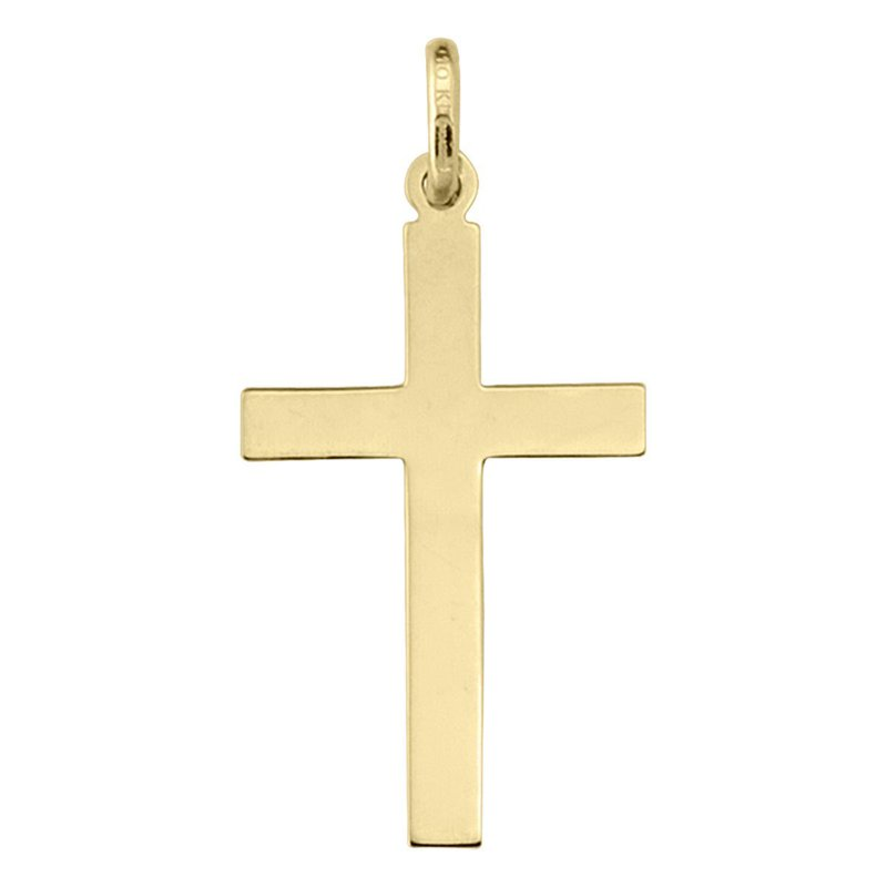 Ashley Yellow Gold Cross