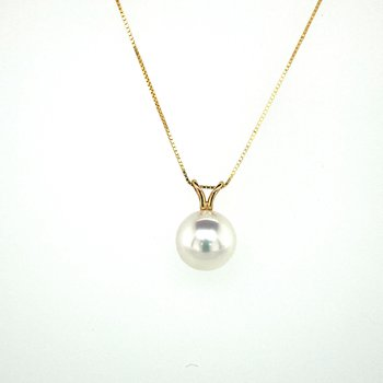 Pearl Drop Necklace 8.5mm
