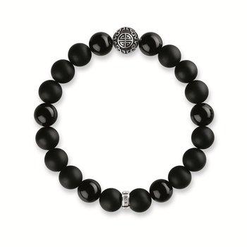 Obsidian Beaded Bracelet