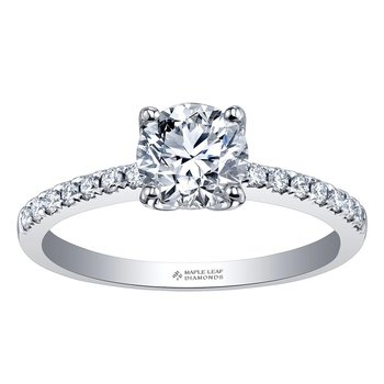 Ideal Cut Ladies Engagement Ring