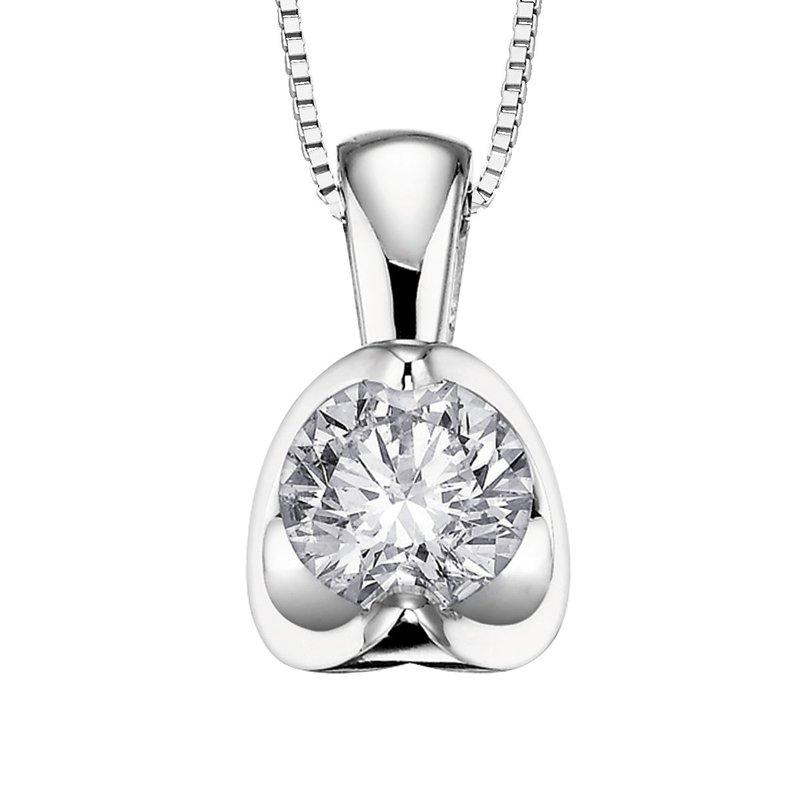 Ashley Half-Moon Diamond Necklace