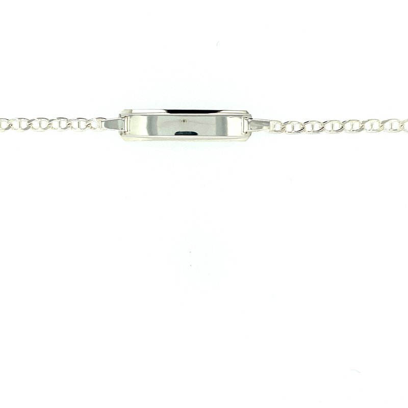 Ashley Silver I.D. Bracelet