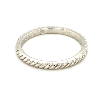 Rope Edge Stackable Ring