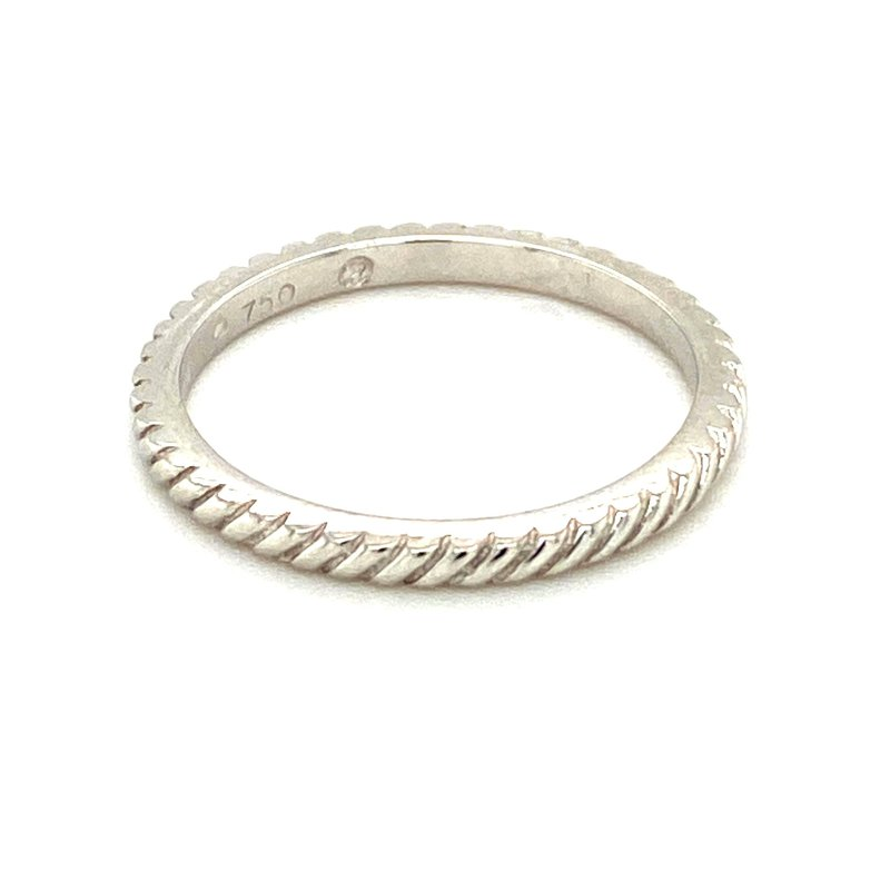 Ashley Rope Edge Stackable Ring