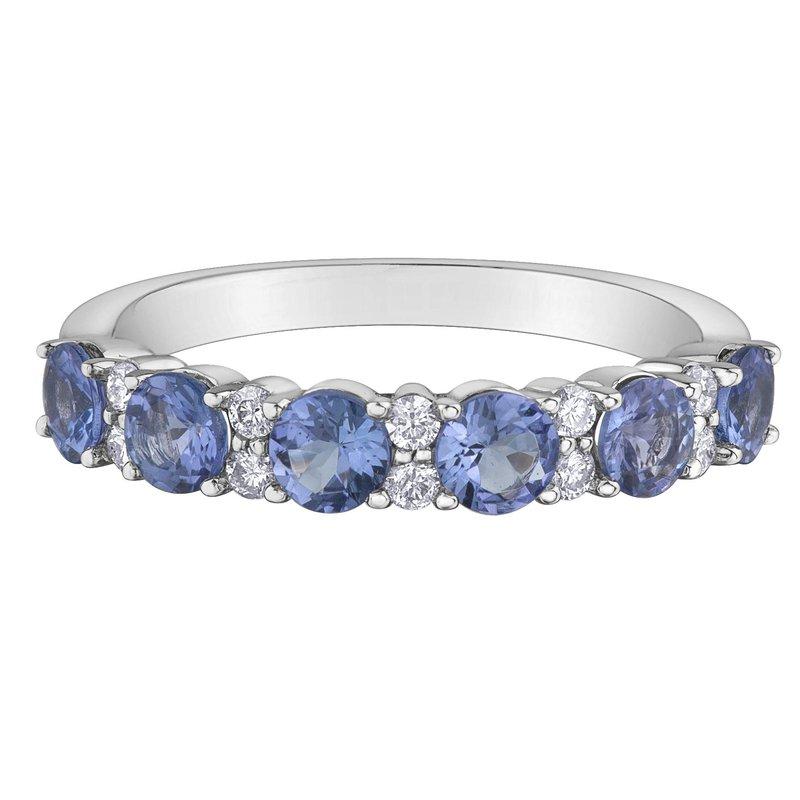 Ashley Tanzanite & Diamond Ring