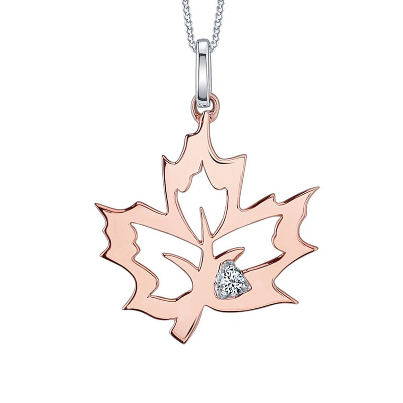 Ashley Maple Leaf Necklace