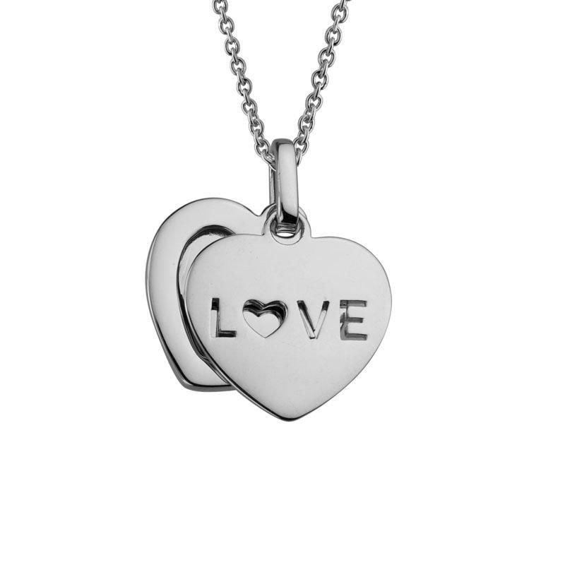 Ashley Silver Love Necklace