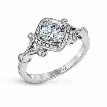 Vintage Engagement Ring Semi-Mount