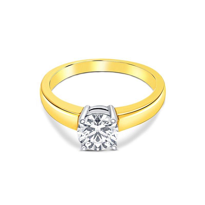 Ashley Semi-Mount Engagement Ring