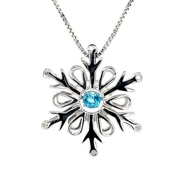 Snowflake Pulse Necklace