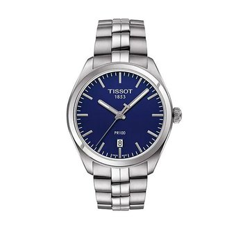 T-Classic Blue Dial & Stainless Steel Bracelet Watch T1274101104100