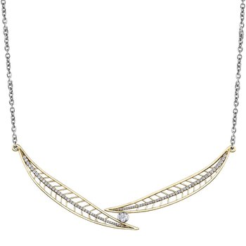 Shelley Purdy Maple Leaf Diamond Necklace
