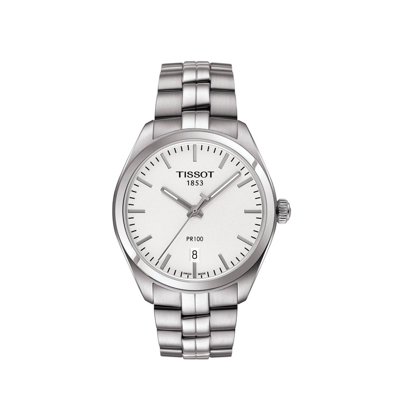 Tissot T101.410.11.031.00  TISSOT PR 100 SPORTY LOOK THAT CAN MATCH YOUR EVERYDAY STYLE AS WELL AS YOUR EVENING ATTIRE