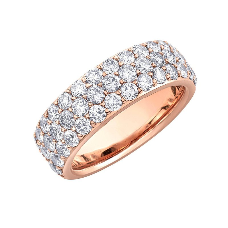Ashley Rose Gold Ring Set with 2.00ct. in Diamonds