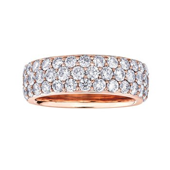 Rose Gold Ring Set with 2.00ct. in Diamonds