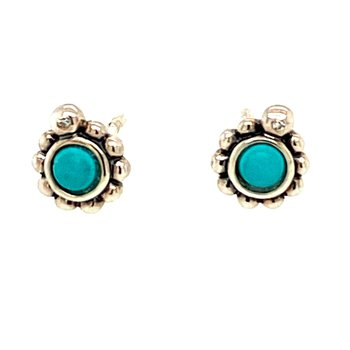 Sterling Silver Glam & Soul Stud Earrings