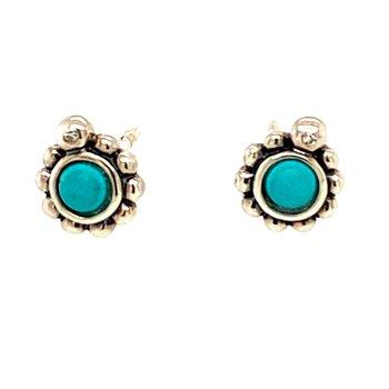 Sterling Silver Glam & Soul Stud Earrings