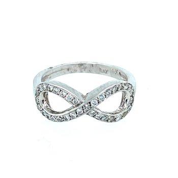Ladies Infinity Ring