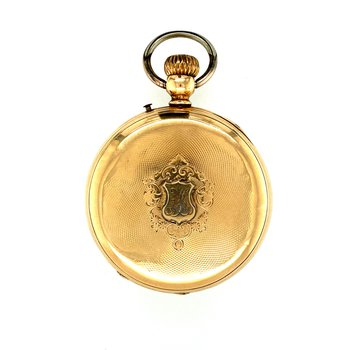 Estate Remontoir Ancre Pocket Watch