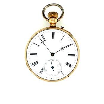 Estate Remontoir Ancre Pocket Watch