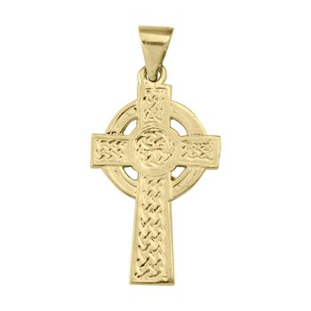 Yellow Gold Celtic Cross