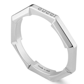 Link to Love mirrored ring YBC662194003 Size 7