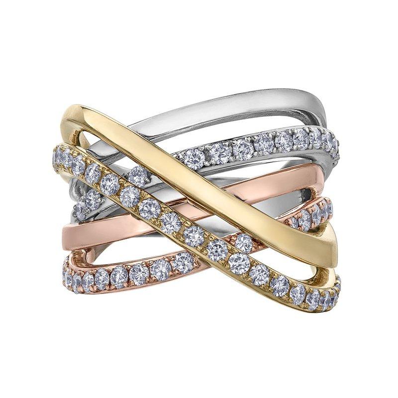 Ashley Tri-Colour Ring