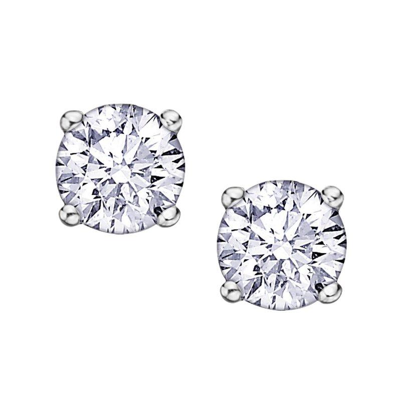 Ashley .42 carat Canadian Diamond Stud Earrings
