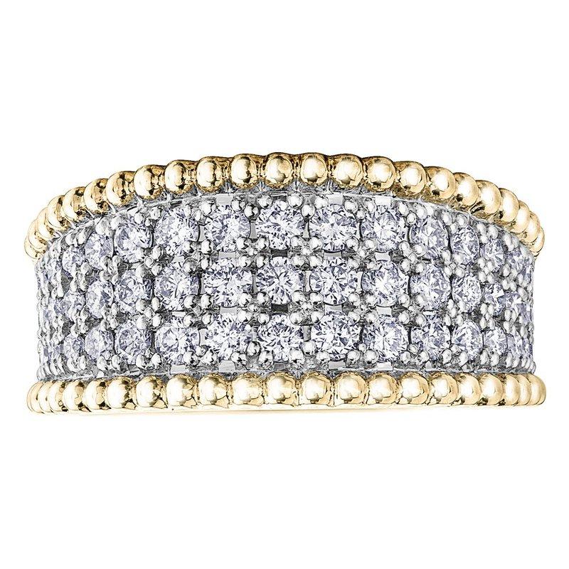 Ashley Ladies Wide Diamond Ring