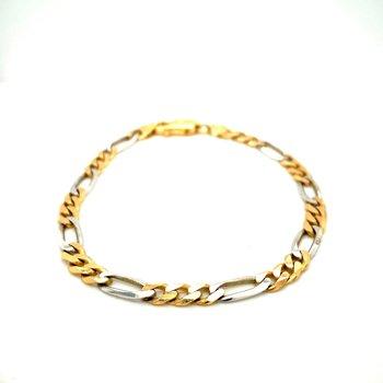 Men's Two Tone Bracelet