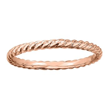 Ladies Rose Gold Band