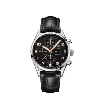 Carrera 43mm Calibre 16 automatic chronograph