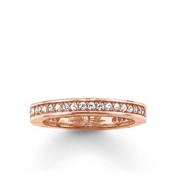 Zirconia Eternity Ring