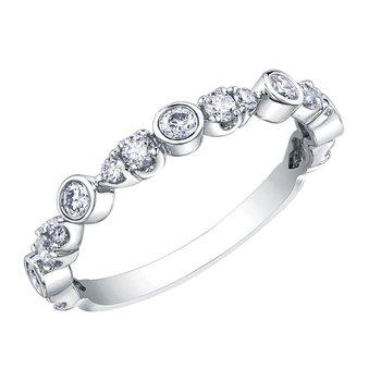 Diamnd Set Anniversary Ring
