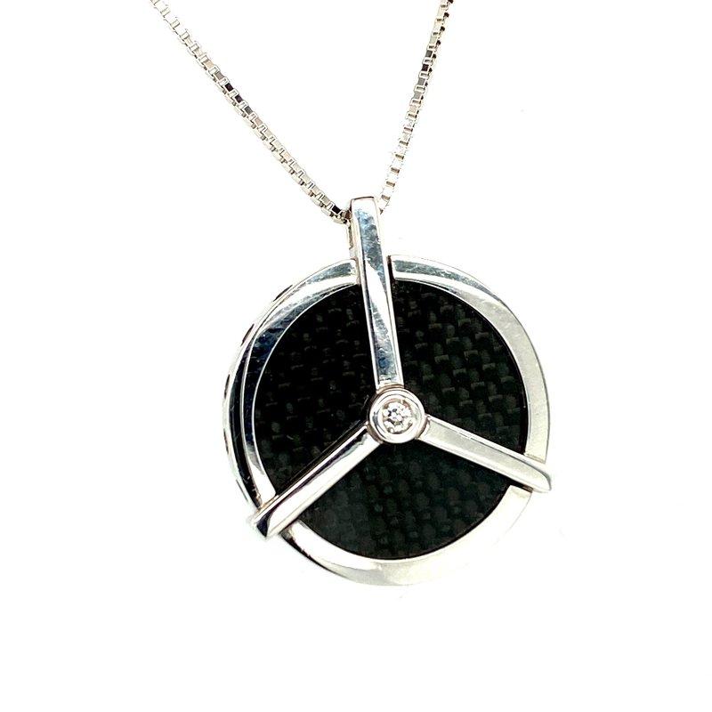 Ashley Carbon Fiber Necklace