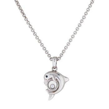 Happy Dolphin Necklace
